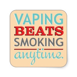 Vaping Beats Smoking