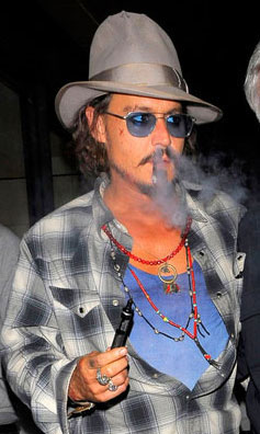 Johnny Depp (Sick Set-up!)