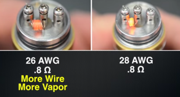 how to tell if vape battery is charged