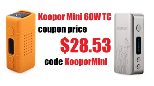 koopor mini 60w tc halloween 2015 promo