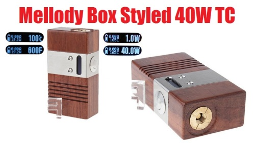 mellody box syled 40w tc mod