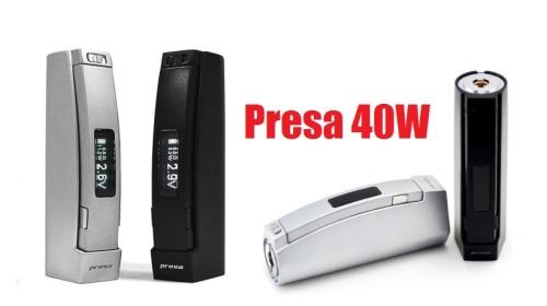 presa 40w box mod