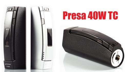 presa 40w tc box mod