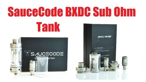 saucecode bxdc sub-ohm tank rta