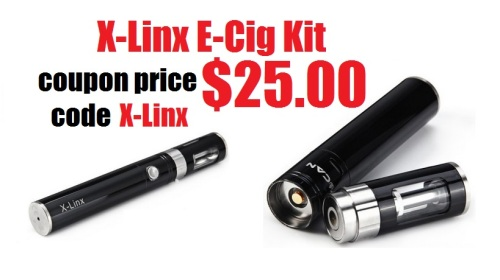 x-linx e-cigarette kit halloween 2015 promo