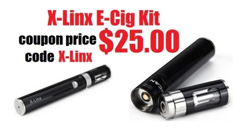 x-linx e-cigarette kit halloween 2015 promo