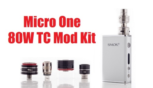 micro one 80w tc mod kit