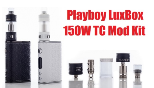 playboy luxbox 150w tc mod kit
