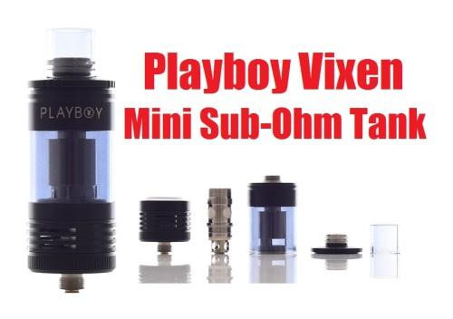 playboy vixen mini subohm tank