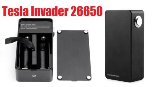 tesla invader 26650