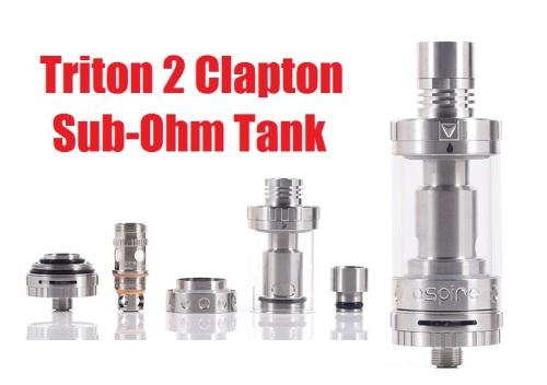 triton 2 clapton sub ohm tank