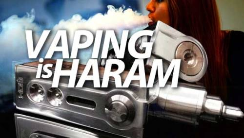 vaping is haram
