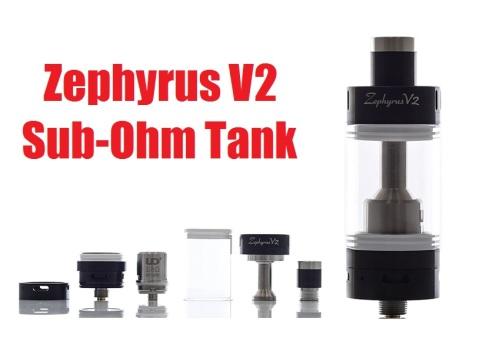 zephyrus v2 sub ohm tank