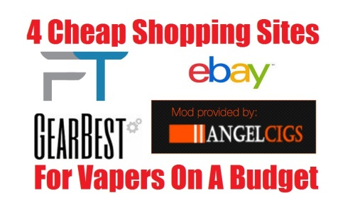 4 cheap shopping sites For Vapers On A Budget
