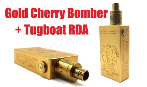 gold cherry bomber and tugboat rda