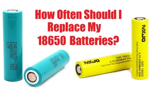 How Often Should I replace My 18650 Batteries