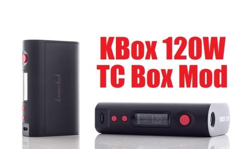kbox 120w tc box mod