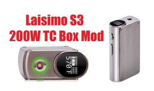 Laisimo S3 200w tc box mod