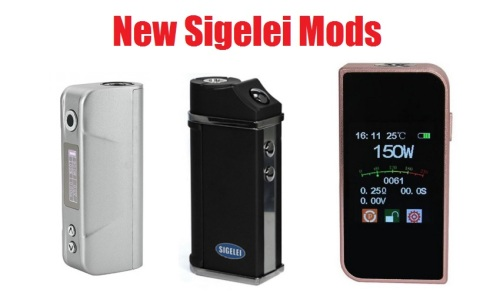 new sigelei mods