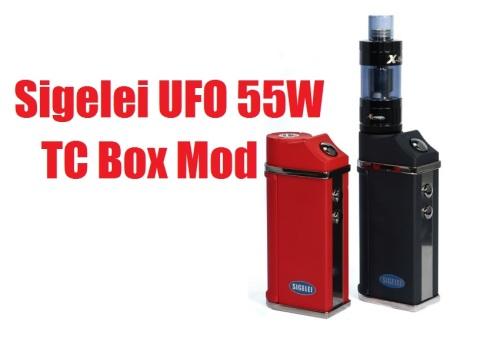 Sigelei UFO 55W TC Box Mod