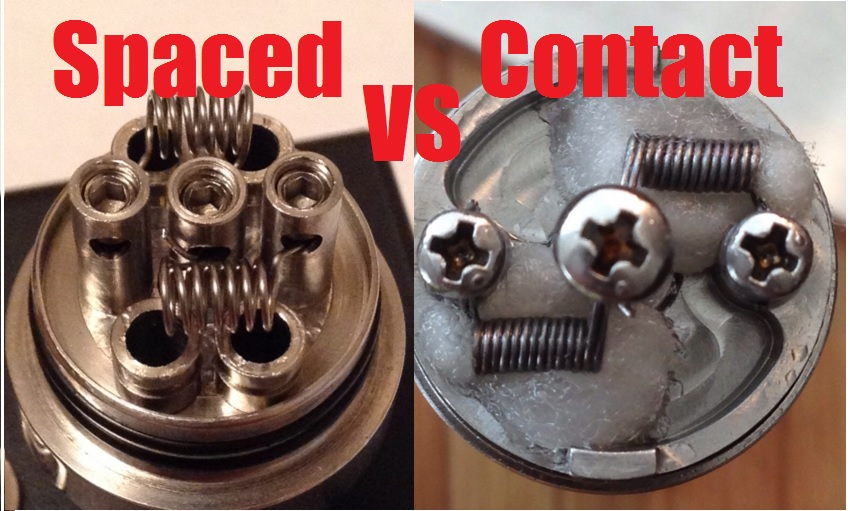 spaced vs contact coils