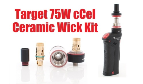 target 75w ccell cermic wick kit