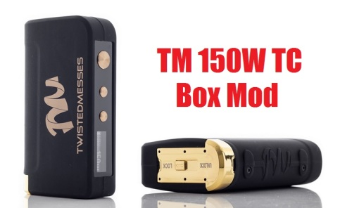 twisted messes tm 150w tc box mod