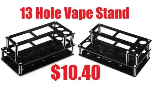 13 hole vape stand