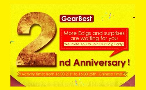gearbest 2nd year anniversary