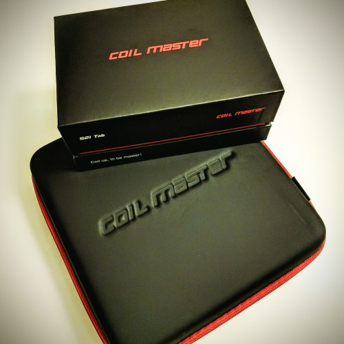 The Coil Master DIY Kit and the Coil Master 521 Tab. Must haves for all serious vapers!