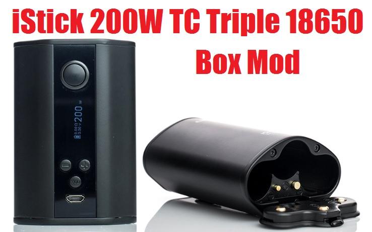 Eleaf iStick 200W TC Triple 18650 Box Mod