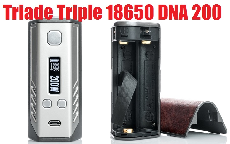 Lost Vape Triade Triple 18650 DNA 200 Box Mod