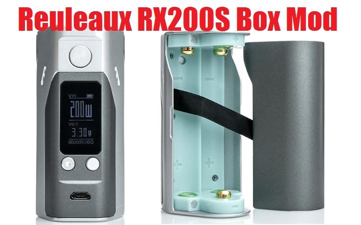 The Wismec Reuleaux RX200S 200W Box Mod by Jay Bo Designs