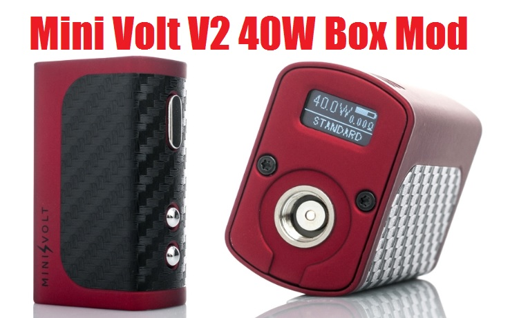 The Council of Vapor Mini Volt V2 40W Box Mod