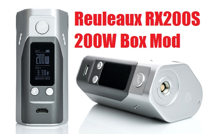 Wismec Reuleaux RX200S 200W Box Mod