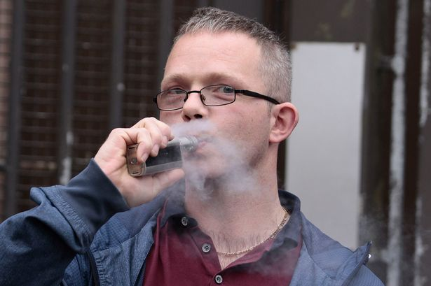 Aaron Galbraith, the man who tested to be twice over the alcohol limit in a breathalyzer test claims that vaping made him fail the test