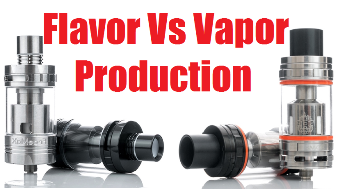 Cloud chasing vs. flavor chasing