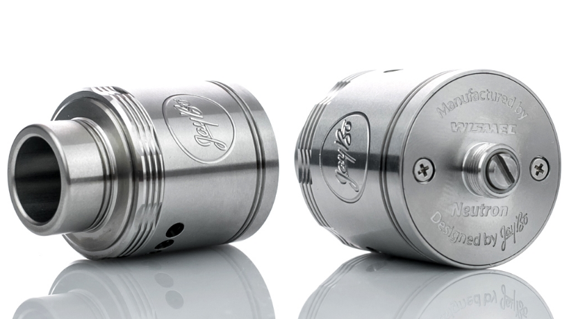 Rugged lines and deep engravings give the Neutron RDA a more aggressive look