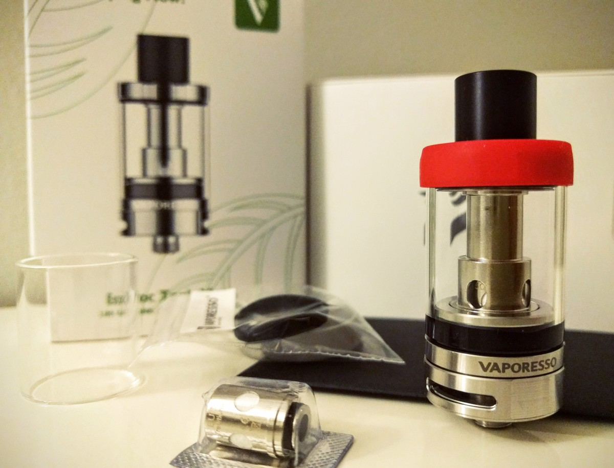 The Estoc Tank MEga by Vaporesso is an easy to use tank that uses affordable and eco-friendly atomizers.